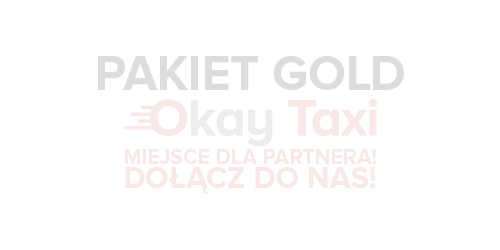 Okay Taxi - logo dolacz gold